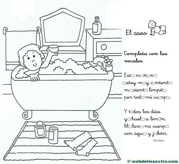 Higiene corporal para niños - Web del maestro