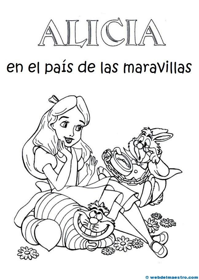 Alicia En El País De Las Maravillas Web Del Maestro