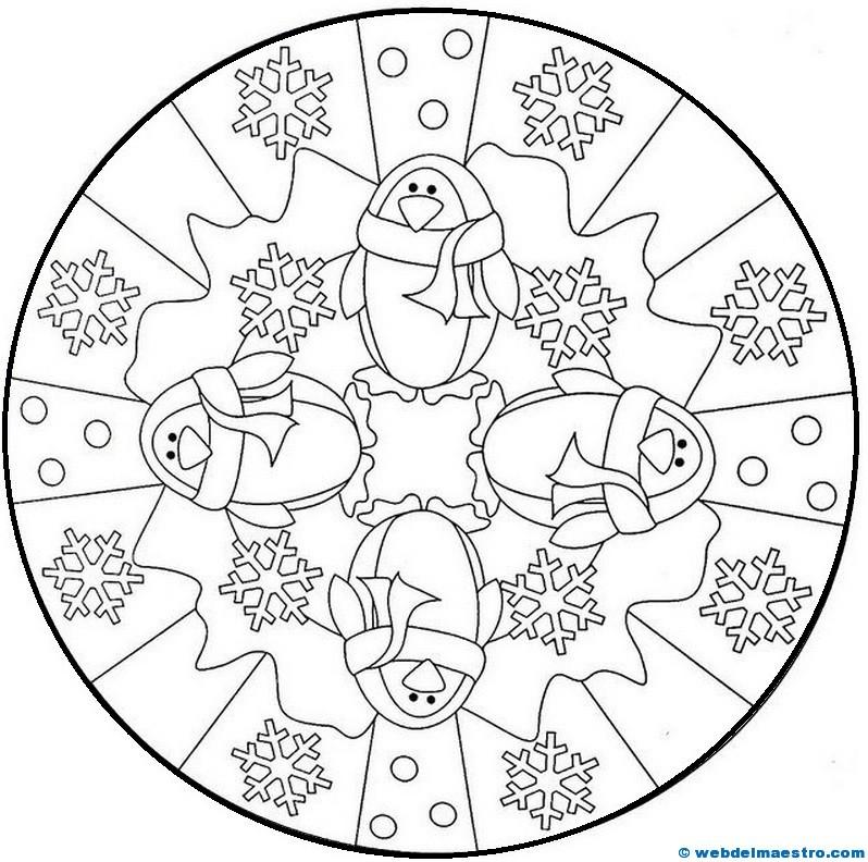 Mandalas para colorear - Web del maestro