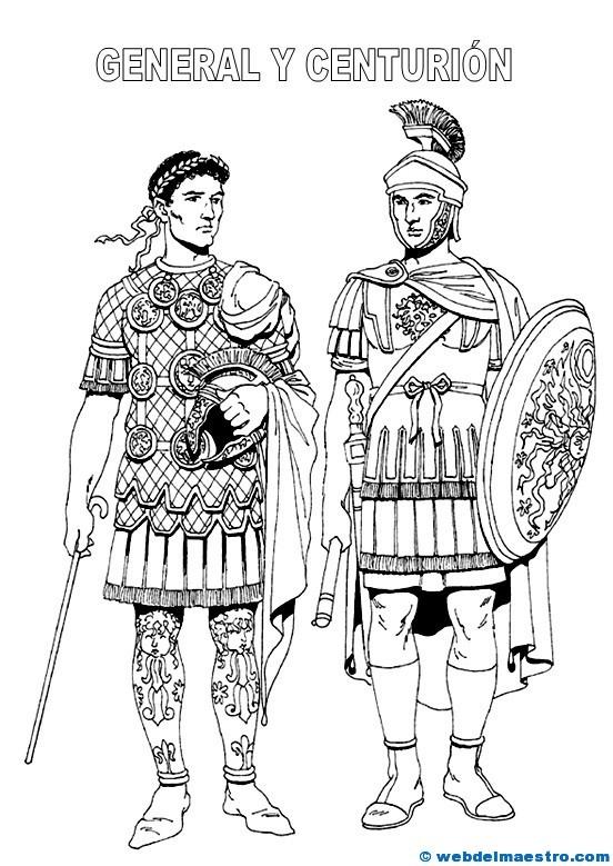 Dibujos de romanos - Web del maestro