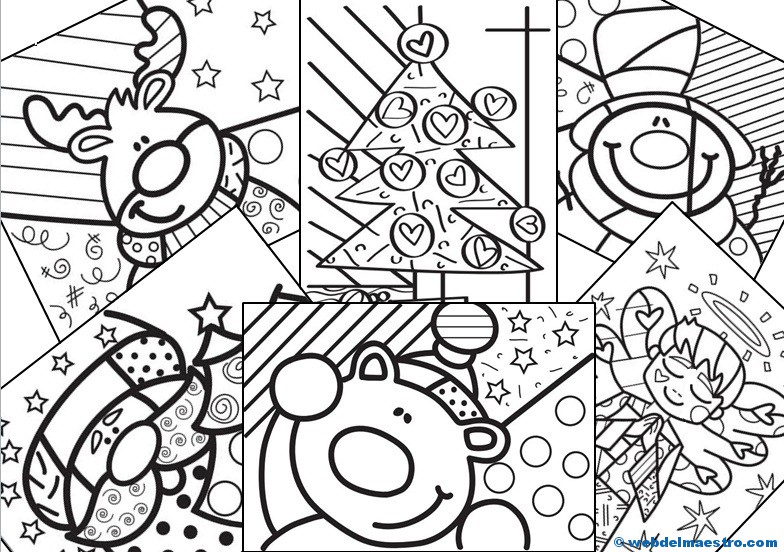 Dibujos de navidad iii web del maestro - Dibujos de navidad para colorear gratis ...