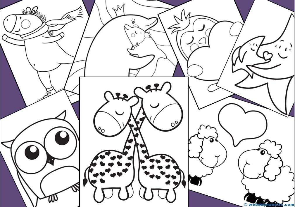 Dibujos para colorear - Web del maestro