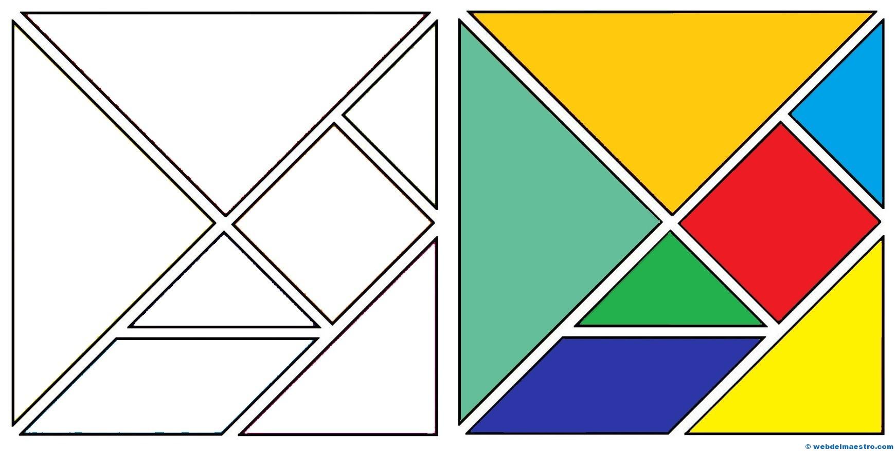 Tangrams for Kids | Juegos de matemáticas, Actividades ...