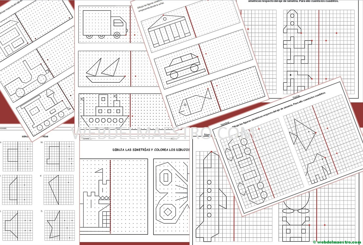 Simetría para niños de primaria - Web del maestro