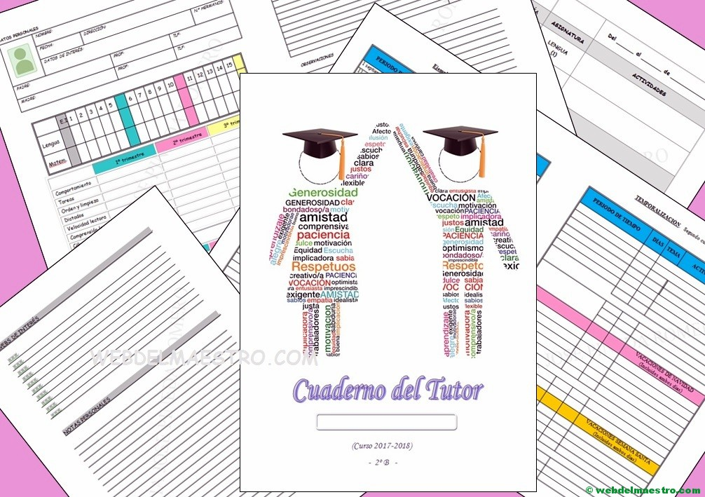 Cuaderno del docente para segundo nivel de Primaria