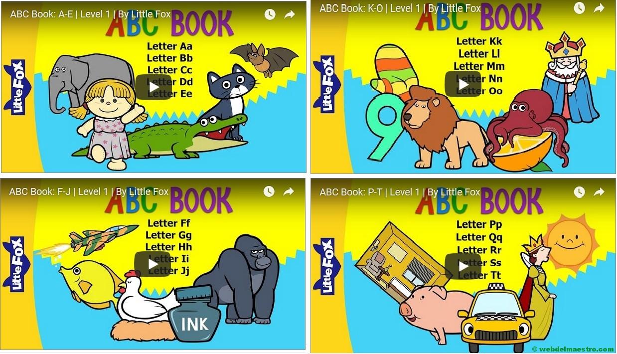Vídeos para aprender inglés - Abecedario en inglés