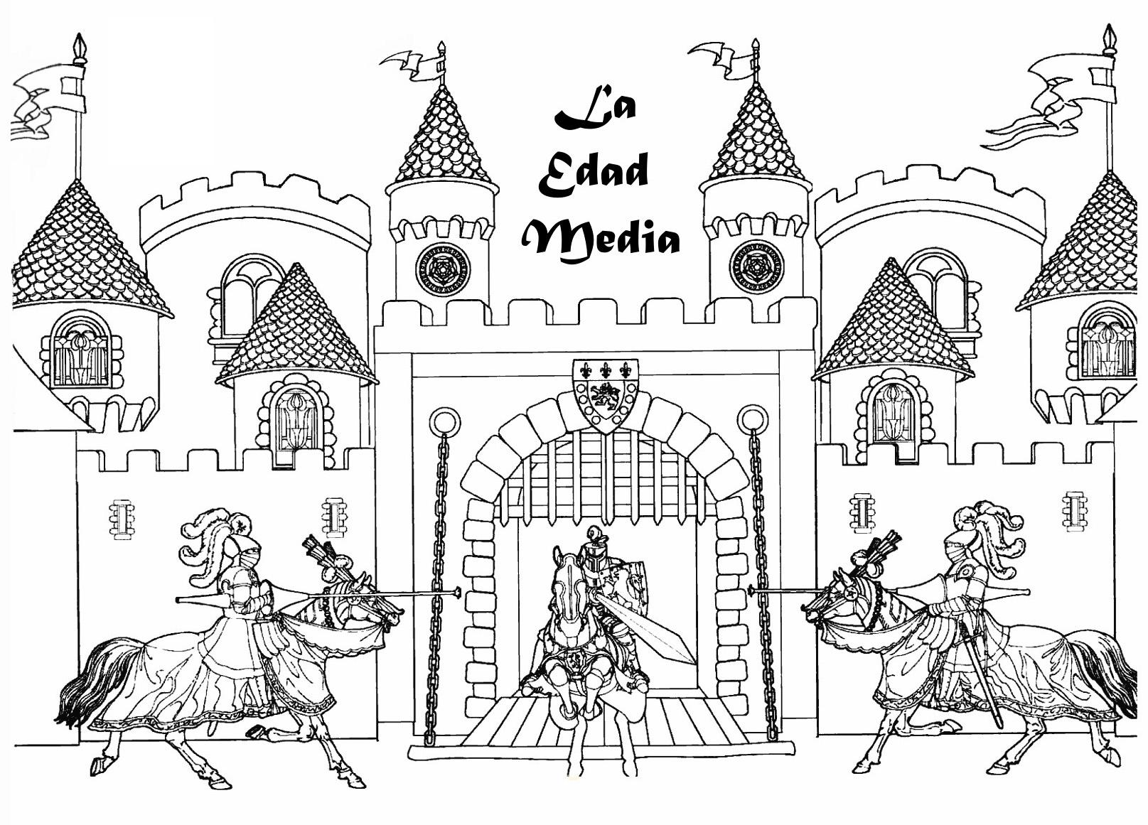 Edad Media para Primaria   Web del maestro
