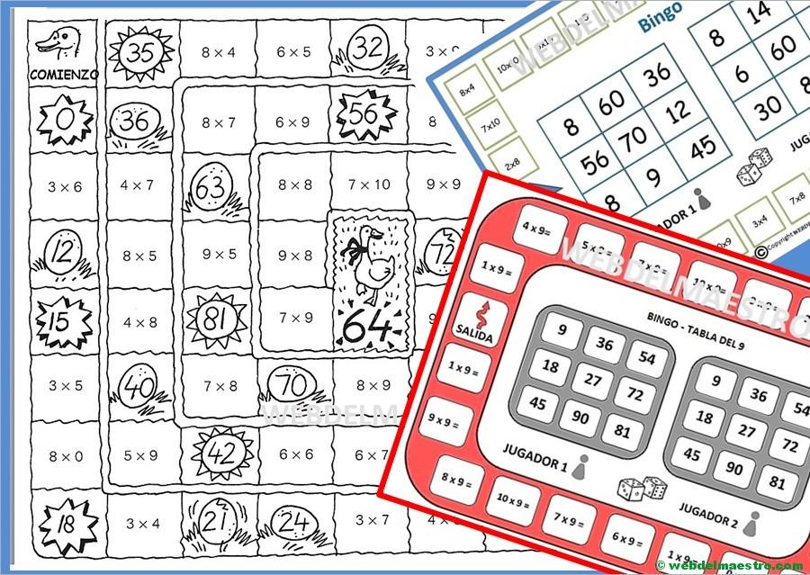 Juegos De Matematicas Para Imprimir Web Del Maestro
