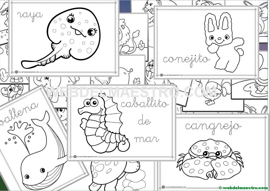 Dibujos Para Colorear Fáciles Dibujos Infantiles Web Del