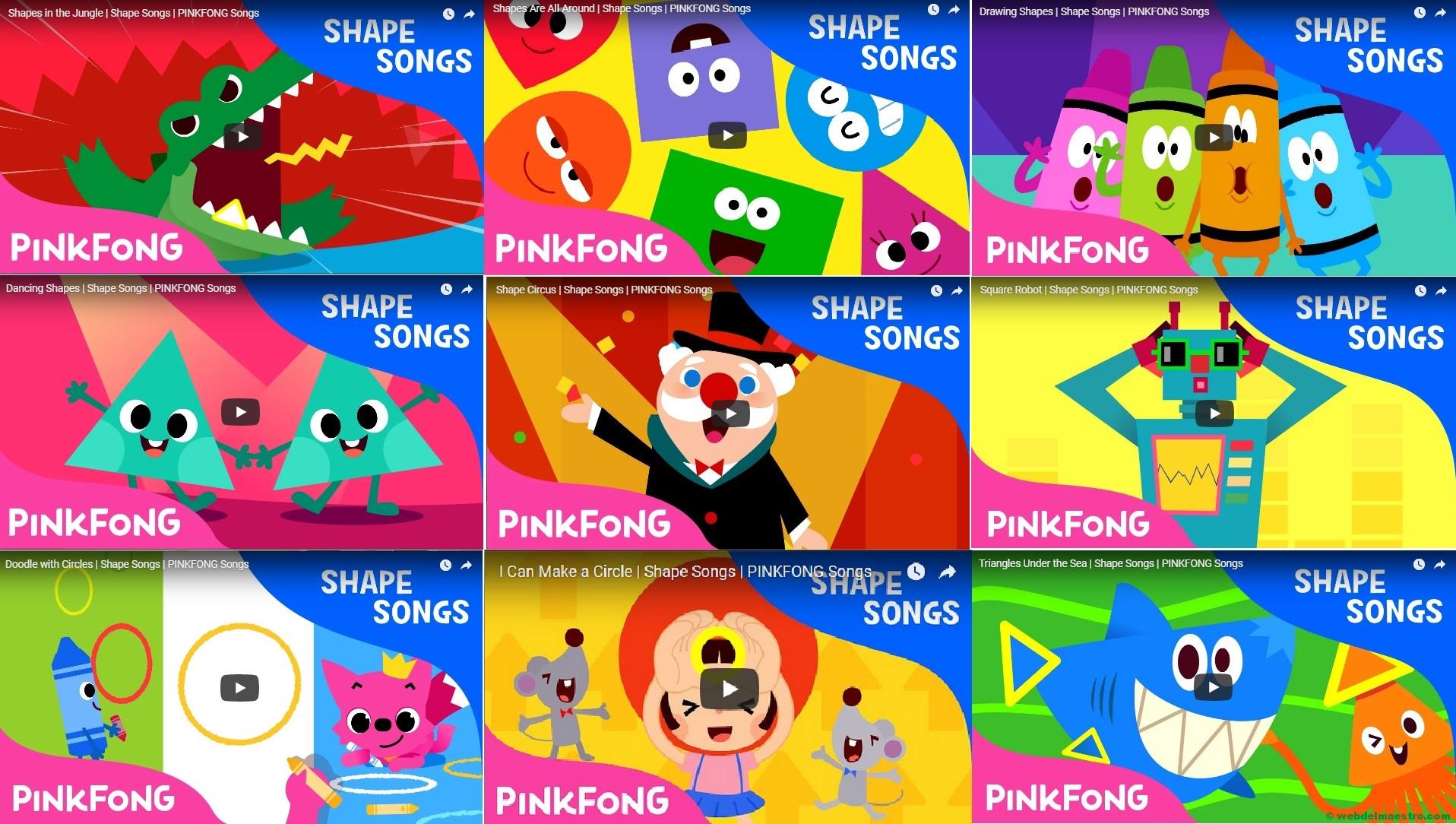 Inglés para niños-figuras geométricas