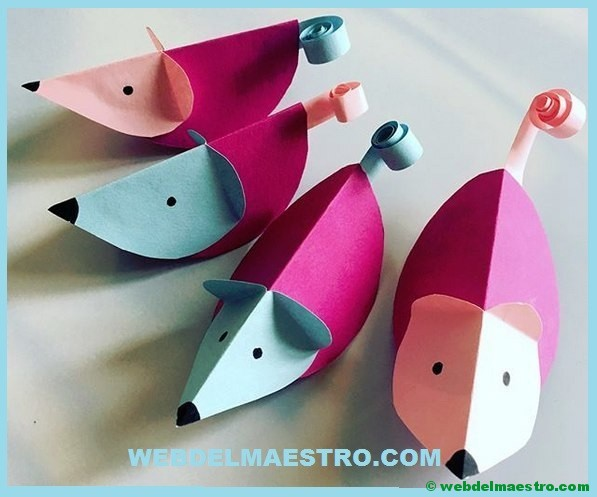 Manualidades de papel para ni os web del maestro - Manualidades para ninos con papel ...
