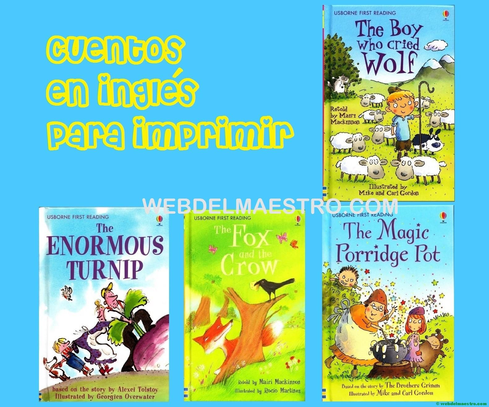 Cuentos En Inglés Ii Web Del Maestro