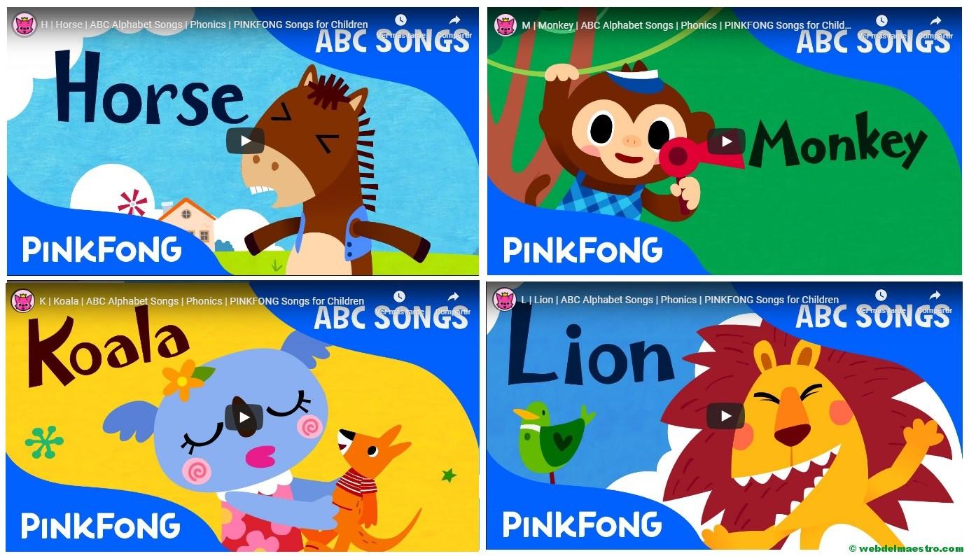 Pronunciación del alfabeto en inglés - II