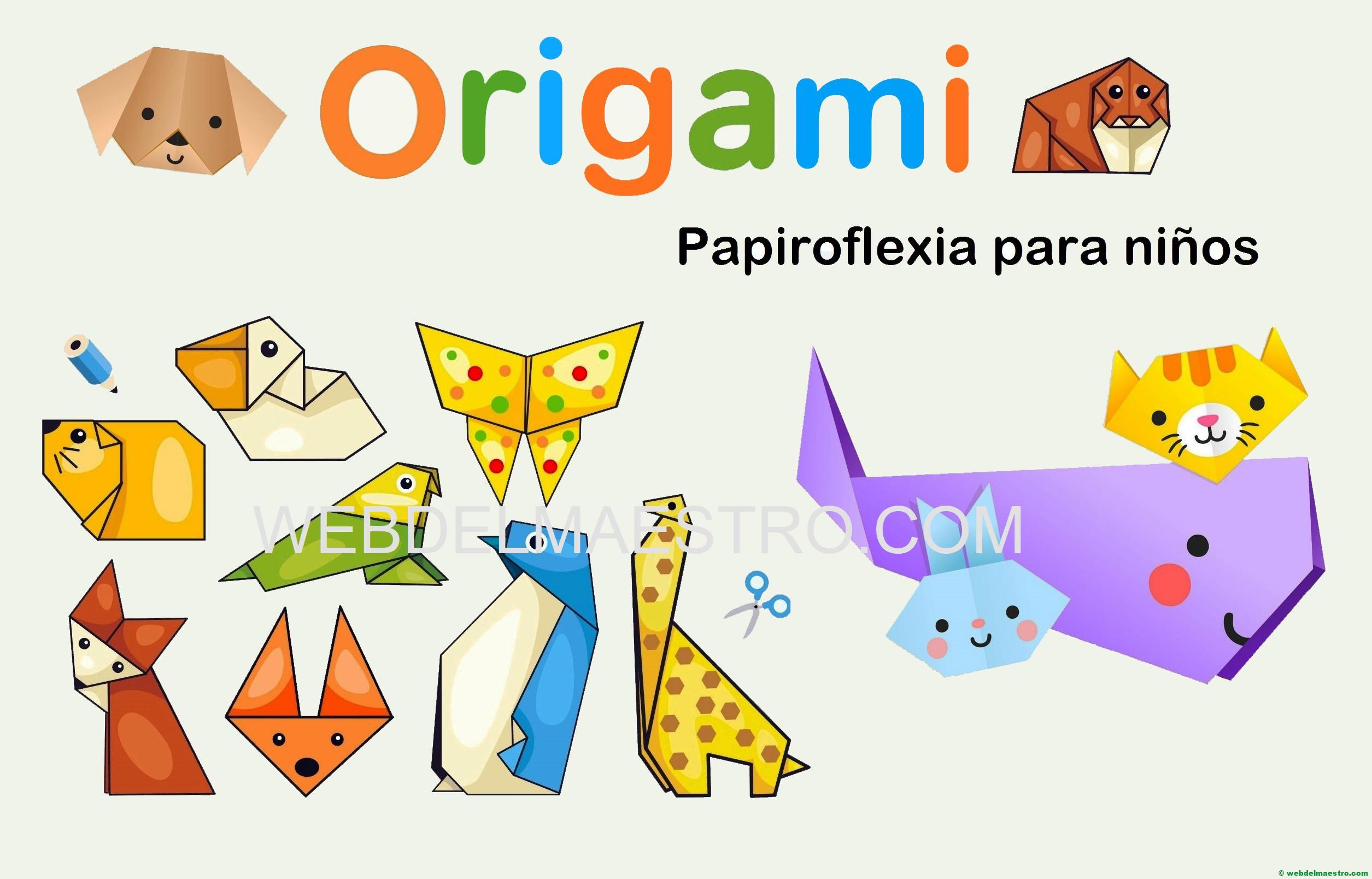 Papiroflexia para niños-