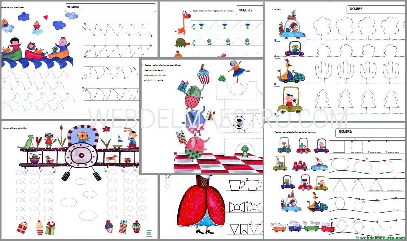 Grafomotricidad para niños de 4 años